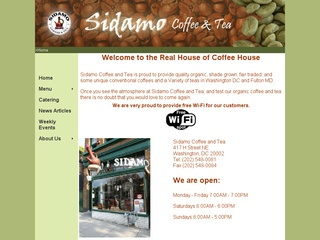 Sidamo Coffee and Tea